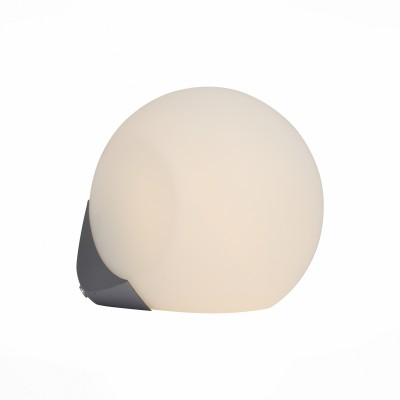 Светильник настенно-потолочный St luce SL809.501.01Круглые<br>Оригинальные светильники  коллекции Orbe  станут отличным дополнением стильного современного интерьера. Металлическое основание цвета хрома гармонично сочетается с закрытыми плафонами круглой формы из белого матового акрила. Модели Orbe снабжены лампами LED. Эти светильники по достоинству оценят любители высоких технологий, которые пытаются воплотить в своем жилище прагматичные идеи стиля хай тек, техно и минимализм.<br><br>Тип лампы: Накаливания / энергосбережения / светодиодная<br>Тип цоколя: E27<br>Цвет арматуры: белый<br>Количество ламп: 1<br>Диаметр, мм мм: 230<br>Расстояние от стены, мм: 260