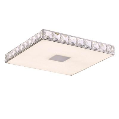 Светильник SL822.112.01 St luceквадратные светильники<br><br><br>Цветовая t, К: 4000<br>Тип лампы: LED - светодиодная<br>Тип цоколя: LED, встроенные светодиоды<br>Цвет арматуры: серебристый<br>Количество ламп: 1<br>Ширина, мм: 340<br>Высота, мм: 42<br>Поверхность арматуры: глянцевая<br>Оттенок (цвет): серебристый<br>MAX мощность ламп, Вт: 18