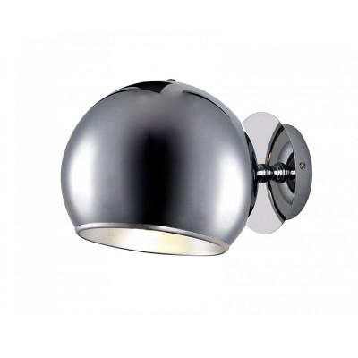 Светильник настенный St luce SL855.101.01Одиночные<br>Касаемо коллекции модели St luce SL855.101.01 хотелось бы отметить основные моменты: Светильники серии Lucido- это металлические конструкции, напоминающие молекулы и их сцепление. Блестящая хромовая, белая, красная и черная поверхности созвучны современным тенденциям дизайна. Эти светильники отлично подойдут к интерьеру комнаты в стиле модерн, поп-арт, хай-тек или футуризм.<br><br>S освещ. до, м2: 4<br>Крепление: планка<br>Тип лампы: накаливания / энергосбережения / LED-светодиодная<br>Тип цоколя: E27<br>Количество ламп: 1<br>Ширина, мм: 250<br>MAX мощность ламп, Вт: 60<br>Длина, мм: 200<br>Расстояние от стены, мм: 200<br>Высота, мм: 200<br>Поверхность арматуры: глянцевая<br>Цвет арматуры: серебристый