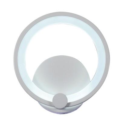 Светильник бра SL867.501.01 St luce TWIDDLE DIMMERХай-тек<br><br><br>S освещ. до, м2: 4<br>Крепление: Планка<br>Цветовая t, К: 3000K/4100K/6000K<br>Тип лампы: Светодиодная<br>Тип цоколя: LED<br>Цвет арматуры: Белый<br>Количество ламп: 1<br>Диаметр, мм мм: 295<br>Поверхность арматуры: Матовая<br>MAX мощность ламп, Вт: 12<br>Общая мощность, Вт: 12