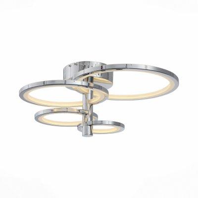 Светильник St Luce SL869.102.04Потолочные<br><br><br>Тип товара: Люстра потолочная<br>Цветовая t, К: 4000<br>Тип лампы: LED<br>Тип цоколя: LED<br>Ширина, мм: 490<br>MAX мощность ламп, Вт: 51<br>Высота, мм: 270