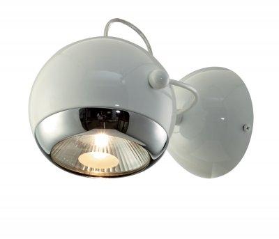 Светильник поворотный St luce SL873.501.01 LEDОдиночные<br>Касаемо коллекции модели St luce SL873.501.01 хотелось бы отметить основные моменты: Светильники коллекции Nano - это металлические конструкции,напоминающие молекулы и их сцепление. Блестящиехромированные или белые поверхности созвучны современным тенденциям в дизайне интерьеров. Эти стильные и функциональные светильники станут акцентом помещения в стиле модерн, попарт, хай-тек или минимализм. Основания и плафоны выполнены из металла. Бра и подвесы из четырех плафонов оснащены подвижными механизмами, позволяющими менять направление освещения.<br><br>S освещ. до, м2: 5<br>Крепление: планка<br>Тип лампы: галогенная / LED-светодиодная<br>Тип цоколя: GU10<br>Количество ламп: 1<br>Ширина, мм: 190<br>MAX мощность ламп, Вт: 75<br>Длина, мм: 210<br>Расстояние от стены, мм: 210<br>Высота, мм: 190<br>Поверхность арматуры: глянцевая<br>Оттенок (цвет): белый<br>Цвет арматуры: белый
