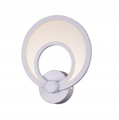 Светильник настенный бра St luce SL898.501.01 NolaХай-тек<br>Касаемо коллекции модели St luce SL898.501.01 хотелось бы отметить основные моменты: Люстры и бра серии Nola привлекают своим смелым и нестандартным дизайном. Светильники состоят из дисков, расположенных в одной или нескольких плоскостях. Каждый диск это LED, акриловая пластина и металл белого цвета. Такой оригинальный дизайн позволяет светильнику гармонично вписаться в современные интерьеры хай-тек, минимализм или техно.<br><br>Крепление: планка<br>Цветовая t, К: CW - холодный белый 4000 К<br>Тип лампы: LED - светодиодная<br>Тип цоколя: LED<br>Цвет арматуры: белый<br>Количество ламп: 1<br>Ширина, мм: 220<br>Расстояние от стены, мм: 60<br>Высота, мм: 230<br>Поверхность арматуры: матовая<br>MAX мощность ламп, Вт: 10