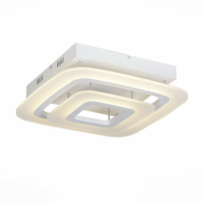 Люстра потолочная St luce SL900.502.02Потолочные<br>Если Вы настроены купить светильник модели SL90050202, то обратите внимание: Люстры коллекции Тorres отлично впишутся в минималистический интерьер помещения, добавив в него объема и глубины. Правильные формы, закругленные линии, теплая матовая поверхность, чередование акрила и металла делает модели Тorres гармоничными и стильными . В пространстве интерьера создается ощущение покоя, умиротворенности и домашнего комфорта. Коллекция идеально подходит для больших площадей -если использовать несколько светильников Тorres в ряд - пространство изменится , структурируется и расширится.<br><br>Установка на натяжной потолок: Да<br>S освещ. до, м2: 1<br>Крепление: Планка<br>Цветовая t, К: CW - холодный белый 4000 К<br>Тип лампы: LED - светодиодная<br>Тип цоколя: LED<br>Количество ламп: 1<br>Ширина, мм: 520<br>MAX мощность ламп, Вт: 38<br>Длина, мм: 520<br>Высота, мм: 120<br>Поверхность арматуры: матовая<br>Оттенок (цвет): белый<br>Цвет арматуры: белый