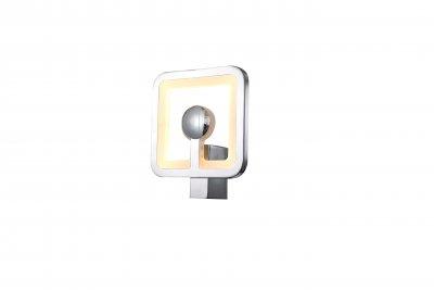 Светильник St luce SL901.101.01Хай-тек<br>Касаемо коллекции модели St luce SL901.101.01 хотелось бы отметить основные моменты: Люстры серии Futur подойдут для современных интерьеров гостиных, кухонь, кабинетов, квартир-студий в стиле хай-тек, минимализм или техно. Металлическое основание и детали корпуса хромированы и удачно гармонируют с полупрозрачным акрилом. За счет многочисленных отражающих поверхностей и интересных геометрических форм светильники Futur создают в пространстве помещения динамичную атмосферу с объемным освещением.<br><br>Крепление: планка<br>Цветовая t, К: CW - холодный белый 4000 К<br>Тип лампы: LED - светодиодная<br>Тип цоколя: LED<br>Количество ламп: светодиодная лента<br>Ширина, мм: 200<br>MAX мощность ламп, Вт: 8<br>Расстояние от стены, мм: 100<br>Высота, мм: 200<br>Поверхность арматуры: глянцевая<br>Цвет арматуры: серебристый