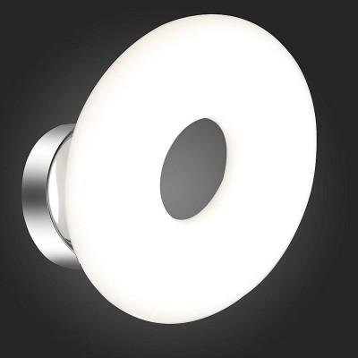 Светильник St luce SL903.101.01Хай-тек<br><br><br>Тип товара: Светильник потолочный<br>Цветовая t, К: 4000<br>Тип лампы: LED<br>Ширина, мм: 200<br>MAX мощность ламп, Вт: 7<br>Высота, мм: 200