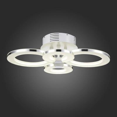 Светильник St Luce SL903.102.04Потолочные<br><br><br>S освещ. до, м2: 26<br>Цветовая t, К: 4000<br>Тип лампы: LED<br>Тип цоколя: LED<br>Ширина, мм: 475<br>MAX мощность ламп, Вт: 64<br>Длина, мм: 605<br>Высота, мм: 190