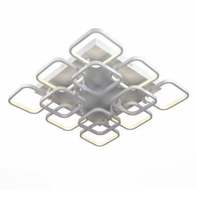 Светильник St luce SL904.112.12Потолочные<br>Если Вы настроены купить светильник модели SL90411212, то обратите внимание: Плавные линии, мягкие изгибы, неожиданные формы - это то, что делает коллекцию светильников Erto модной, яркой и футуристичной. Люстры из этой серии несомненно станут главным украшением интерьера, притягивающим внимание посетителей, настоящим арт-обьектом под потолком. <br>Светильники Erto подходят для больших площадей. Они объемны и в то же время легки, воздушны и элегантны. Светодиодная лента, расположенная под акриловым рассеивателем, распространяет ровный , мягкий свет без бликов и теней. Металлическое основание белого матового цвета.<br><br>Установка на натяжной потолок: Да<br>S освещ. до, м2: 64<br>Цветовая t, К: 3500<br>Тип лампы: LED<br>Тип цоколя: LED<br>Количество ламп: 1<br>Ширина, мм: 750<br>Длина, мм: 750<br>Высота, мм: 220<br>MAX мощность ламп, Вт: 160