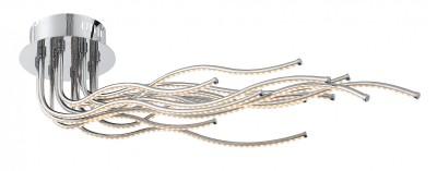 Светильник St luce SL905.152.12Потолочные<br>Касаемо коллекции модели St luce SL905.152.12 хотелось бы отметить основные моменты: Люстры серии Exclu разработаны дизайнерами для ценителей современных инноваций в интерьере. Они станут изысканным акцентом и в помещении в стиле модерн, и в стиле техно. Основание и лучи разных форм выполнены из хромированного металла. Источники света - LED, декорированы акриловыми плафонамиполосками.<br><br>Установка на натяжной потолок: Да<br>S освещ. до, м2: 24<br>Крепление: Планка<br>Цветовая t, К: CW - холодный белый 4000 К<br>Тип лампы: LED - светодиодная<br>Тип цоколя: LED<br>Количество ламп: 12<br>Ширина, мм: 370<br>MAX мощность ламп, Вт: 60<br>Длина, мм: 800<br>Высота, мм: 200<br>Поверхность арматуры: глянцевая<br>Цвет арматуры: серебристый