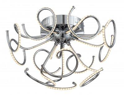 Люстра потолочная St luce SL905.112.12 ExcluПотолочные<br>Касаемо коллекции модели St luce SL905.112.12 хотелось бы отметить основные моменты: Люстры серии Exclu разработаны дизайнерами для ценителей современных инноваций в интерьере. Они станут изысканным акцентом и в помещении в стиле модерн, и в стиле техно. Основание и лучи разных форм выполнены из хромированного металла. Источники света - LED, декорированы акриловыми плафонамиполосками.<br><br>Установка на натяжной потолок: Да<br>S освещ. до, м2: 23<br>Крепление: Планка<br>Цветовая t, К: CW - холодный белый 4000 К<br>Тип лампы: LED - светодиодная<br>Тип цоколя: LED<br>Цвет арматуры: серебристый<br>Количество ламп: 12<br>Диаметр, мм мм: 500<br>Высота, мм: 300<br>Поверхность арматуры: глянцевая<br>MAX мощность ламп, Вт: 38