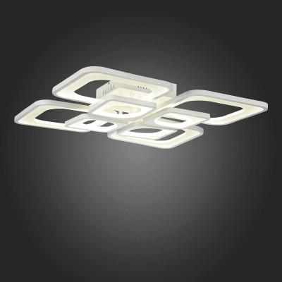 Светильник St Luce SL907.502.08Потолочные<br><br><br>S освещ. до, м2: 66<br>Цветовая t, К: 3000<br>Тип лампы: LED<br>Тип цоколя: LED<br>Ширина, мм: 670<br>MAX мощность ламп, Вт: 165<br>Длина, мм: 670<br>Высота, мм: 166<br>Цвет арматуры: белый