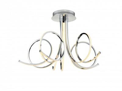 Светильник St Luce SL915.112.05Потолочные<br>Если Вы настроены купить светильник модели SL91511205, то обратите внимание: Фантазийная коллекция светильников Nimbo - это настоящая магия под потолком. Люстры этой коллекции достойно украсят интерьер, офлрмленный в стиле модерн, техно или арт- деко. Изогнутые формы и плавные линии рассеивателей напоминают щупальца осьминога. Металлическое основание окрашено в цвет хрома, а светодиодные источники закрыты матовыми пластинами из белого акрила. Модели Nimbo наполняют пространство ровным мягким светом, идеально подходят для установки на натяжных потолках – не нагревают полотно, а свет мягко отражается от тканевой поверхности.<br><br>Установка на натяжной потолок: Да<br>S освещ. до, м2: 25<br>Цветовая t, К: 4000<br>Тип лампы: LED<br>Тип цоколя: LED<br>MAX мощность ламп, Вт: 72<br>Диаметр, мм мм: 650<br>Высота, мм: 400
