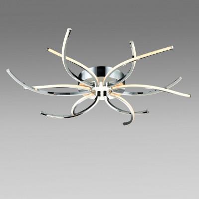 Светильник St Luce SL916.102.12Потолочные<br>Если Вы настроены купить светильник модели SL91610212, то обратите внимание: Мир движется и он хаотичен - именно такое первое впечатление создается от люстры из коллекции Alone. Индустриальная эстетика этих светильников покоряет с первого взгляда. В них есть все - изящество, утончённость и простота. Используя рассеиватели параболической формы, направленные в разные стороны, дизайнеры смогли осветить большие площади потолка мягким равномерным светом. Плавные линии, изогнутые формы, сочетание глянцевых и матовых поверхностей - все это позволяет достичь уникального эффекта умиротворенности. При том, что светильники из коллекции Alone не обладают яркими,вычурными элементами, в них сохраняется ощущение роскоши и стиля.<br><br>Установка на натяжной потолок: Да<br>S освещ. до, м2: 18<br>Тип лампы: LED<br>Тип цоколя: LED<br>MAX мощность ламп, Вт: 45<br>Диаметр, мм мм: 722<br>Высота, мм: 60