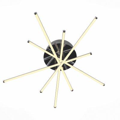 Светильник St Luce SL926.102.10Потолочные<br>Если Вы настроены купить светильник модели SL92610210, то обратите внимание: Светильники из коллекции Fasci выполняют не только функцию освещения, но и ,несомненно, являются настоящим произведением искусства . Мiодели Fasci наполняют помещение мягким направленным светом. Щелчок выключателя,- и комната наполняется теплыми лучами, которые дарят атмосферу покоя и уюта. Необычная конфигурация светильников Fasci впечатляет и восхищает. Их присутствие будет весьма кстати в спальне для создания романтической обстановки или в гостиной. Такой светильник понравится детям, которые любят все необычное и фантастическое.<br><br>Установка на натяжной потолок: Да<br>S освещ. до, м2: 13<br>Цветовая t, К: 4000<br>Тип лампы: LED<br>Тип цоколя: LED<br>Ширина, мм: 570<br>MAX мощность ламп, Вт: 32<br>Длина, мм: 600<br>Высота, мм: 130