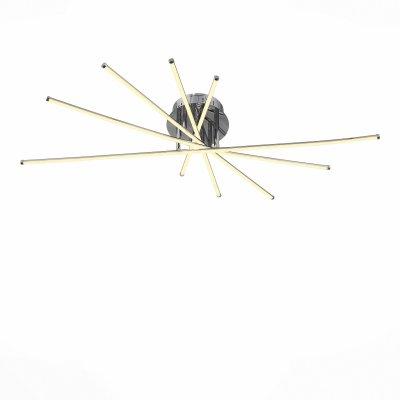 Светильник St Luce SL926.112.10Потолочные<br>Если Вы настроены купить светильник модели SL92611210, то обратите внимание: Светильники из коллекции Fasci выполняют не только функцию освещения, но и ,несомненно, являются настоящим произведением искусства . Мiодели Fasci наполняют помещение мягким направленным светом. Щелчок выключателя,- и комната наполняется теплыми лучами, которые дарят атмосферу покоя и уюта. Необычная конфигурация светильников Fasci впечатляет и восхищает. Их присутствие будет весьма кстати в спальне для создания романтической обстановки или в гостиной. Такой светильник понравится детям, которые любят все необычное и фантастическое.<br><br>Установка на натяжной потолок: Да<br>S освещ. до, м2: 14<br>Цветовая t, К: 4000<br>Тип лампы: LED<br>Тип цоколя: LED<br>Ширина, мм: 400<br>MAX мощность ламп, Вт: 35<br>Длина, мм: 1000<br>Высота, мм: 160