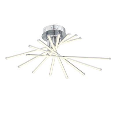Светильник St Luce SL926.102.08Потолочные<br>Светильники из коллекции Fasci  выполняют не только  функцию освещения, но  и ,несомненно, являются настоящим произведением искусства . Мiодели  Fasci наполняют помещение мягким направленным светом. Щелчок выключателя,- и  комната наполняется  теплыми лучами, которые дарят атмосферу покоя и уюта. Необычная конфигурация светильников Fasci впечатляет и восхищает. Их присутствие будет весьма кстати в спальне для создания романтической обстановки или в гостиной. Такой светильник понравится  детям, которые любят все необычное и фантастическое.<br><br>Установка на натяжной потолок: Да<br>S освещ. до, м2: 41<br>Крепление: Планка<br>Цветовая t, К: 4000<br>Тип лампы: LED<br>Тип цоколя: LED<br>Ширина, мм: 610<br>MAX мощность ламп, Вт: 116<br>Длина, мм: 780<br>Высота, мм: 220<br>Цвет арматуры: серебристый