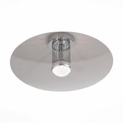 Светильник St Luce SL931.102.01Декоративные<br>Если Вы настроены купить светильник модели SL93110201, то обратите внимание: Уникальность светильников коллекции Alcosa в особенностях распределения светового потока. Светильник состоит из двух компонентов - основа-патрон, на которую крепится лампочка, и плафон в форме диска. После включения в помещении распространяется мягкий, приглушенный и спокойный свет, который поднимается к потолку и отражается от него, разливаясь во все стороны. Светильники из коллекции Alcosa помогают создать атмосферу домашнего уюта и при этом сохранить нейтральность в организации освещения. Такая люстра идеально подойдёт для тех интерьеров, где требуется современное нестандартное решение, но при этом важно не акцентировать излишнее внимание на источнике света.<br><br>S освещ. до, м2: 4<br>Цветовая t, К: 4000<br>Тип лампы: LED<br>Тип цоколя: LED<br>Количество ламп: 1<br>Диаметр, мм мм: 440<br>Высота, мм: 250<br>MAX мощность ламп, Вт: 10
