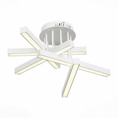 Светильник St Luce SL933.502.05Потолочные<br>Если Вы настроены купить светильник модели SL93350205, то обратите внимание: Лаконичный минималистический дизайн превращает светильники коллекции Samento в идеальное украшение современного интерьера. Металлическое основание соединяется со столь же строгим по форме и стилю плафоном. Он выполнен из металла двух оттенков - черный и цвет алюминия, каждый из которых обладает своими дизайнерскими достоинствами. В качестве источников света выступают светодиодные лампы, декорированные вставкой из матового акрила. Необычные светильники, входящие в коллекцию Samento, прекрасно подойдут для городских апартаментов и офисов, в интерьере которых отразился минимализм стилей баухаус, техно, лофт или хай-тек.<br><br>Установка на натяжной потолок: Да<br>S освещ. до, м2: 20<br>Цветовая t, К: 4000<br>Тип лампы: LED<br>Тип цоколя: LED<br>Количество ламп: 5<br>Диаметр, мм мм: 560<br>MAX мощность ламп, Вт: 10