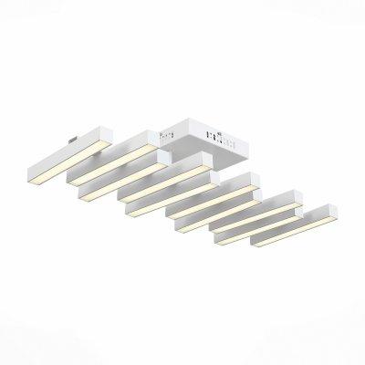 Светильник St Luce SL933.502.10Потолочные<br>Если Вы настроены купить светильник модели SL93350210, то обратите внимание: Лаконичный минималистический дизайн превращает светильники коллекции Samento в идеальное украшение современного интерьера. Металлическое основание соединяется со столь же строгим по форме и стилю плафоном. Он выполнен из металла двух оттенков - черный и цвет алюминия, каждый из которых обладает своими дизайнерскими достоинствами. В качестве источников света выступают светодиодные лампы, декорированные вставкой из матового акрила. Необычные светильники, входящие в коллекцию Samento, прекрасно подойдут для городских апартаментов и офисов, в интерьере которых отразился минимализм стилей баухаус, техно, лофт или хай-тек.<br><br>Установка на натяжной потолок: Да<br>S освещ. до, м2: 24<br>Цветовая t, К: 4000<br>Тип лампы: LED<br>Тип цоколя: LED<br>Количество ламп: 10<br>Ширина, мм: 300<br>MAX мощность ламп, Вт: 6<br>Длина, мм: 660<br>Высота, мм: 180