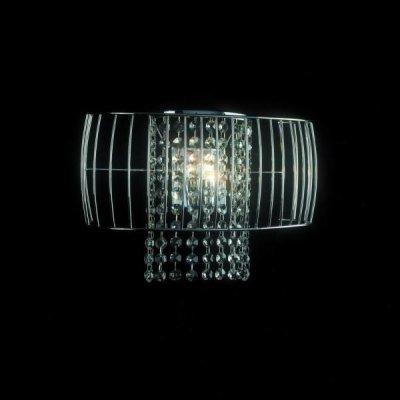 Светильник St luce SL938.101.01Архив<br><br><br>S освещ. до, м2: 2<br>Тип лампы: галогенная / LED-светодиодная<br>Тип цоколя: G9<br>Количество ламп: 1<br>Ширина, мм: 360<br>MAX мощность ламп, Вт: 40<br>Длина, мм: 140<br>Высота, мм: 180<br>Оттенок (цвет): хром, хрустальные подвески<br>Цвет арматуры: серебристый