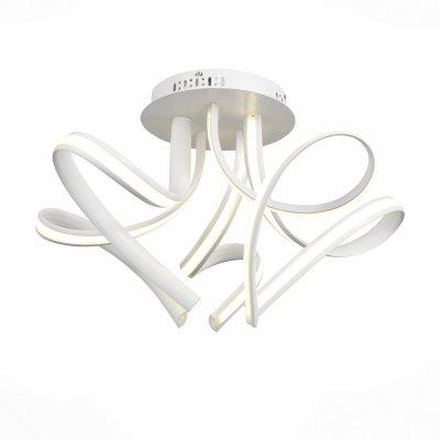 Светильник St Luce SL954.502.05Потолочные<br>Если Вы настроены купить светильник модели SL95450205, то обратите внимание: Ультрасовременный дизайн светильника коллекции Intrigo предназначен для тех, кто не боится оригинальных решений в оформлении интерьера. Основание дюстр выполнено из металла , окрашенного в белый цвет и дополнено необычным световым оформлением. Так, источники света – светодиодные ленты – расположены внутри витьевато изогнутых металлических лучей и декорированы вставками из полупрозрачного акрила. Высокие параметры освещенности и необыкновенное воплощение моделей Intrgo делают интерьер по-настоящему стильным и ярким.<br><br>Установка на натяжной потолок: Да<br>S освещ. до, м2: 4<br>Цветовая t, К: 4000<br>Тип лампы: LED<br>Тип цоколя: LED<br>MAX мощность ламп, Вт: 10<br>Диаметр, мм мм: 500<br>Высота, мм: 290<br>Оттенок (цвет): белый