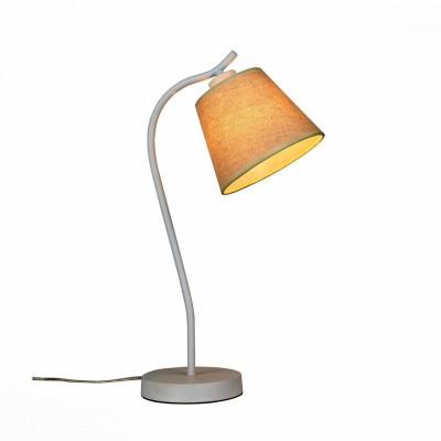 SL964.504.01 Настольная лампа ST LuceСовременные<br>Настольные лампы коллекции Tabella подобраны с целью разнообразить интерьер, привнести в него дополнительные акценты, сделать более уютным. Текстильные абажуры и металлические основания имеют разнообразные оттенки, которые идеально сочетаются с большинством интерьерных стилей.<br><br>Тип лампы: Накаливания / энергосбережения / светодиодная<br>Тип цоколя: E27<br>Количество ламп: 1<br>Ширина, мм: 170<br>Длина, мм: 250<br>Высота, мм: 520<br>MAX мощность ламп, Вт: 60