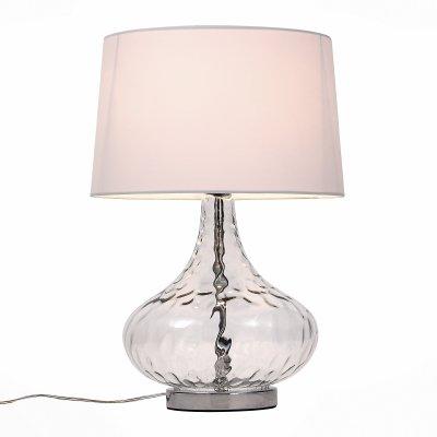 Светильник St Luce SL973.104.01Современные<br>Настольная лампа – это не просто источник дополнительного освещения, но и оригинальный элемент декора. Его можно установить в спальне, гостиной, кабинете и других комнатах. Интернет-магазин «Светодом» предлагает настольные лампы разных стилей по доступным ценам. Благодаря большому ассортименту Вы обязательно найдете в нашем каталоге именно ту модель, которую искали. <br> Настольная лампа St luce SL973.104.01 – прекрасный вариант для завершения интерьера. Ее можно включить одновременно с люстрой для более яркого освещения или без нее для создания уютной атмосферы, настраивающей на отдых. <br> Купить настольную лампу St luce SL973.104.01 Вы можете с помощью виртуальной «Корзины» или по контактным номерам, указанным на сайте.<br><br>Тип лампы: Накаливания / энергосбережения / светодиодная<br>Тип цоколя: E27<br>Количество ламп: 1<br>MAX мощность ламп, Вт: 60<br>Диаметр, мм мм: 380<br>Высота, мм: 540