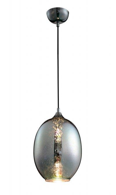 Светильник подвесной St luce SL979.013.01Одиночные<br><br><br>Крепление: на планку<br>Тип товара: Подвесной светильник<br>Тип лампы: накаливания / энергосбережения / LED-светодиодная<br>Тип цоколя: E14<br>Количество ламп: 1<br>MAX мощность ламп, Вт: 40<br>Диаметр, мм мм: 230<br>Высота, мм: 350<br>Поверхность арматуры: глянцевая<br>Цвет арматуры: серебристый хром