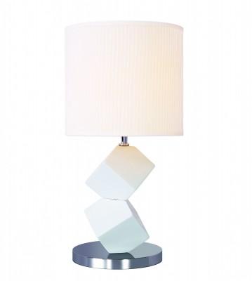Светильник St Luce SL985.504.01Современные<br>Если Вы настроены купить светильник модели SL98550401, то обратите внимание: Настольные лампы коллекции Tabella подобраны с целью разнообразить интерьер, привнести в него дополнительные акценты, сделать более уютным. Текстильные абажуры и керамические основания имеют естественные природные оттенки, которые идеально сочетаются с большинством интерьерных стилей.<br><br>Тип лампы: Накаливания / энергосбережения / светодиодная<br>Тип цоколя: E27<br>Количество ламп: 1<br>MAX мощность ламп, Вт: 60<br>Диаметр, мм мм: 260<br>Высота, мм: 500