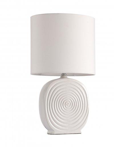 Настольная лампа St luce SL991.504.01 TabellaСовременные<br>Касаемо коллекции модели St luce SL991.504.01 хотелось бы отметить основные моменты: Настольные лампы коллекции Tabella подобраны с целью разнообразить интерьер, привнести в него дополнительные акценты, сделать более уютным. Текстильные абажуры и керамические основания имеют естественные природные оттенки, которые идеально сочетаются с большинством интерьерных стилей.<br><br>Тип лампы: накаливания / энергосбережения / LED-светодиодная<br>Тип цоколя: E27<br>Количество ламп: 1<br>Ширина, мм: 270<br>MAX мощность ламп, Вт: 60<br>Высота, мм: 490<br>Поверхность арматуры: глянцевая<br>Цвет арматуры: белый