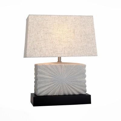 Светильник St Luce SL991.554.01 TabellaСовременные настольные лампы модерн<br>Настольная лампа – это не просто источник дополнительного освещения, но и оригинальный элемент декора. Его можно установить в спальне, гостиной, кабинете и других комнатах. Интернет-магазин «Светодом» предлагает настольные лампы разных стилей по доступным ценам. Благодаря большому ассортименту Вы обязательно найдете в нашем каталоге именно ту модель, которую искали. <br> Настольные лампы серии Tabella подобраны с целью разнообразть интерьер,привнести в него дополнительные акценты,сделать более уютным.<br><br>Тип лампы: Накаливания / энергосбережения / светодиодная<br>Тип цоколя: E27<br>Количество ламп: 1<br>Ширина, мм: 320<br>Длина, мм: 155<br>Высота, мм: 390<br>MAX мощность ламп, Вт: 60