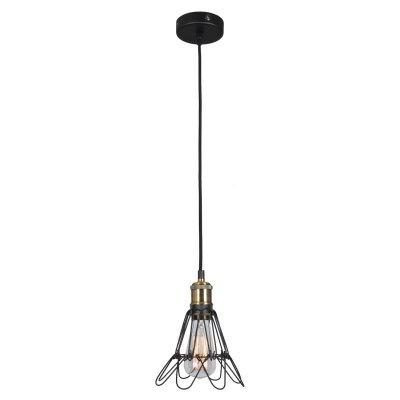 SLD963.333.01 Светильник подвесной ST Luce Черный, Бронза/Черный E27 1*60WОжидается<br><br>