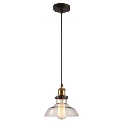 SLD972.303.01 Светильник подвесной ST Luce Черный, Бронза/Прозрачный E27 1*60WОжидается<br><br>