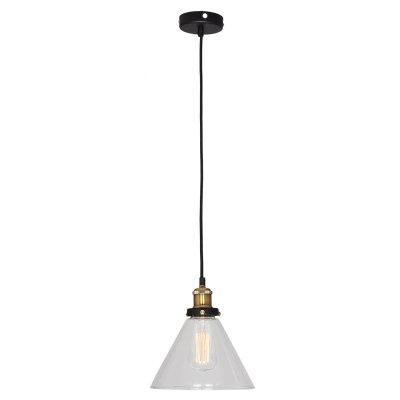 SLD972.313.01 Светильник подвесной ST Luce Черный, Бронза/Прозрачный E27 1*60WОжидается<br><br>