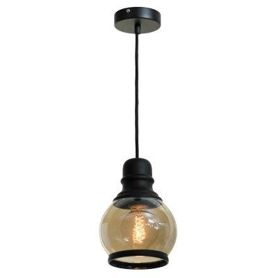 SLD975.413.01 Светильник подвесной ST Luce Черный/Янтарный E27 1*60WОжидается<br><br>