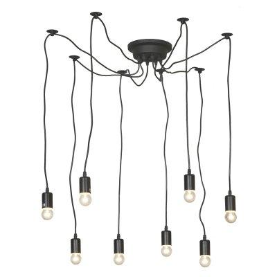 Люстра подвесная ST Luce SLD983.403.09Подвесные<br><br><br>Установка на натяжной потолок: Да<br>S освещ. до, м2: 27<br>Тип лампы: Накаливания / энергосбережения / светодиодная<br>Тип цоколя: E27<br>Количество ламп: 9<br>Диаметр, мм мм: 2800<br>Высота, мм: 1400<br>MAX мощность ламп, Вт: 60