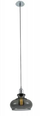 Светильник подвесной Crystal lux SONNETTE SP1 SMOKE 3041/201Подвесные<br>Компания «Светодом» предлагает широкий ассортимент люстр от известных производителей. Представленные в нашем каталоге товары выполнены из современных материалов и обладают отличным качеством. Благодаря широкому ассортименту Вы сможете найти у нас люстру под любой интерьер. Мы предлагаем как классические варианты, так и современные модели, отличающиеся лаконичностью и простотой форм. <br>Стильная люстра Crystal lux SONNETTE SP1 SMOKE станет украшением любого дома. Эта модель от известного производителя не оставит равнодушным ценителей красивых и оригинальных предметов интерьера. Люстра Crystal lux SONNETTE SP1 SMOKE обеспечит равномерное распределение света по всей комнате. При выборе обратите внимание на характеристики, позволяющие приобрести наиболее подходящую модель. <br>Купить понравившуюся люстру по доступной цене Вы можете в интернет-магазине «Светодом».<br><br>Установка на натяжной потолок: Да<br>S освещ. до, м2: 3<br>Тип цоколя: E27<br>Цвет арматуры: Серебристый хром<br>Количество ламп: 1<br>Диаметр, мм мм: 240<br>Длина цепи/провода, мм: 1200<br>Высота, мм: 260<br>MAX мощность ламп, Вт: 60