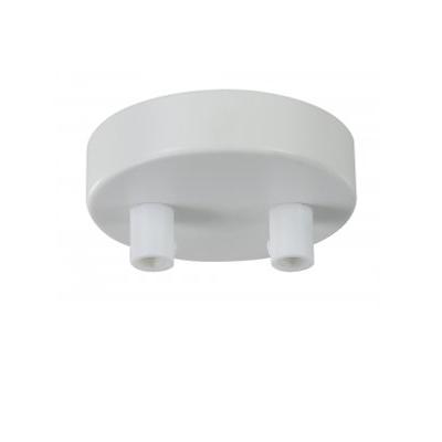Универсальное крепление Maytoni SPR-BASE-R-02-W Multipurpose ceilingПотолочные чаши<br><br><br>Установка на натяжной потолок: Да<br>Цвет арматуры: Белый<br>Количество ламп: 2<br>Диаметр, мм мм: 80<br>Высота, мм: 20