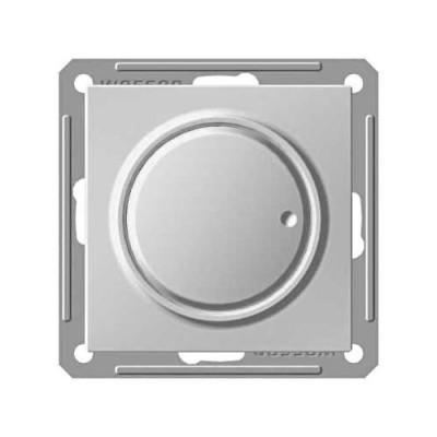 WESSEN 59 Матовый хром Светорегулятор поворотно-нажимной 600Вт, для л/н и г/л на 230В (SR-5S2-5-86)WESSEN 59<br>Технические характеристики WESSEN 59 Матовый хром Светорегулятор поворотно-нажимной 600Вт, для л/н, г/л на 230В<br>Цвет: Матовый Хром.<br>Степень защиты: IP20.<br>Напряжение сети: 250 В.<br>Ном. ток нагрузки: 2.4 А.<br>Размер: 71x71x39 мм?.<br><br>Оттенок (цвет): серебристый