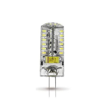 Лампа Gauss LED G4 AC150-265V 3W 2700KКапсульные G4 12v<br>В интернет-магазине «Светодом» можно купить не только люстры и светильники, но и лампочки. В нашем каталоге представлены светодиодные, галогенные, энергосберегающие модели и лампы накаливания. В ассортименте имеются изделия разной мощности, поэтому у нас Вы сможете приобрести все необходимое для освещения.   Лампа Gauss SS107707103 LED G4 3W 85-265V 2700K обеспечит отличное качество освещения. При покупке ознакомьтесь с параметрами в разделе «Характеристики», чтобы не ошибиться в выборе. Там же указано, для каких осветительных приборов Вы можете использовать лампу Gauss SS107707103 LED G4 3W 85-265V 2700KGauss SS107707103 LED G4 3W 85-265V 2700K.   Для оформления покупки воспользуйтесь «Корзиной». При наличии вопросов Вы можете позвонить нашим менеджерам по одному из контактных номеров. Мы доставляем заказы в Москву, Екатеринбург и другие города России.<br><br>Цветовая t, К: WW - теплый белый 2700-3000 К<br>Тип лампы: LED - светодиодная<br>Тип цоколя: G4<br>MAX мощность ламп, Вт: 3<br>Диаметр, мм мм: 15<br>Высота, мм: 41