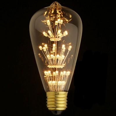 Ретро лампа Loft it ST64-47LEDРетро стиля<br>В интернет-магазине «Светодом» можно купить не только люстры и светильники, но и лампочки. В нашем каталоге представлены светодиодные, галогенные, энергосберегающие модели и лампы накаливания. В ассортименте имеются изделия разной мощности, поэтому у нас Вы сможете приобрести все необходимое для освещения. <br> Лампа Loft it ST64-47LED обеспечит отличное качество освещения. При покупке ознакомьтесь с параметрами в разделе «Характеристики», чтобы не ошибиться в выборе. Там же указано, для каких осветительных приборов Вы можете использовать лампу Loft it ST64-47LEDLoft it ST64-47LED. <br> Для оформления покупки воспользуйтесь «Корзиной». При наличии вопросов Вы можете позвонить нашим менеджерам по одному из контактных номеров. Мы доставляем заказы в Москву, Екатеринбург и другие города России.<br><br>Цветовая t, К: WW - теплый белый 2700-3000 К<br>Тип цоколя: E27<br>MAX мощность ламп, Вт: 4