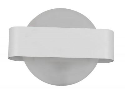 Светильник настенный бра Crystal lux SYNC AP1 RING WH 3141/401Ожидается<br><br><br>Цветовая t, К: 4000K<br>Тип цоколя: LED<br>Цвет арматуры: Белый<br>Количество ламп: 1<br>Ширина, мм: 86<br>Длина, мм: 270<br>Высота, мм: 210<br>MAX мощность ламп, Вт: 8