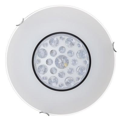 Светильник светодиодный Сонекс 328/EL LAKRIMA 72ВтКруглые<br><br><br>S освещ. до, м2: 36<br>Тип лампы: LED - светодиодная<br>Цвет арматуры: серебристый хром<br>Диаметр, мм мм: 500<br>Высота, мм: 110<br>Оттенок (цвет): белый<br>MAX мощность ламп, Вт: 72