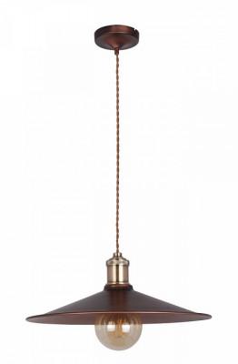 Светильник Maytoni T028-01-R Jingleподвесные люстры лофт<br>Стиль Лофт  люстры  T028-01-R серия   Jingle  дополнит  помещение искусственным светом. Создан светильник  дизайнерами  немецкой компании Maytoni . Отличный выбор для комнаты подростка, кафе, гостиницы.  Люстра T028-01-R отличный вариант для низких и высоких  потолков,  с помощью подвеса высоту  можно увеличить до 1390 мм. Светильник  от Майтони — это качественное устройство от мирового бренда по справедливой стоимости. Производитель Maytoni рекомендует использовать для устройства   лампы накаливания с цоколем E27. Освещает  светильник 3 м2. Осветительный прибор произведен с использованием материала: арматура из металла. Для покупки устройства просто нажмите кнопку «добавить в корзину» или свяжитесь с нашими менеджерами по указанным на сайте номерам. Мы доставляем заказы по Москве, Екатеринбургу и другим российским городам.<br><br>Установка на натяжной потолок: Да<br>S освещ. до, м2: 3<br>Крепление: планка<br>Тип лампы: Накаливания / энергосбережения / светодиодная<br>Тип цоколя: E27<br>Цвет арматуры: коричневый<br>Количество ламп: 1<br>Диаметр, мм мм: 360<br>Высота полная, мм: 1390<br>Длина цепи/провода, мм: 1200<br>Высота, мм: 300 - 1390<br>Поверхность арматуры: Матовая<br>Оттенок (цвет): коричневый<br>MAX мощность ламп, Вт: 60