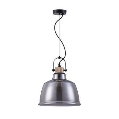 Светильник Maytoni T163PL-01Cодиночные подвесные светильники<br><br><br>Тип лампы: Накаливания / энергосбережения / светодиодная<br>Тип цоколя: E27<br>Цвет арматуры: черный<br>Количество ламп: 1<br>Диаметр, мм мм: 300<br>Высота, мм: 410<br>Поверхность арматуры: матовая<br>Оттенок (цвет): черный<br>MAX мощность ламп, Вт: 60