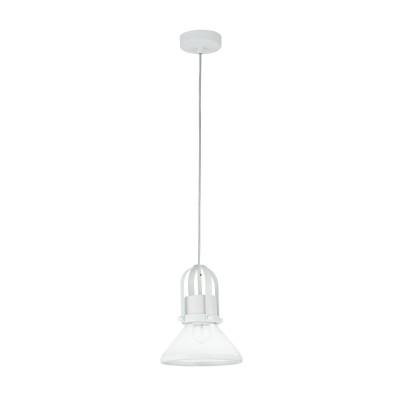 Люстра Maytoni T268-PL-01-W ArgoОдиночные<br><br><br>Тип лампы: Накаливания / энергосбережения / светодиодная<br>Тип цоколя: E27<br>Цвет арматуры: Белый<br>Количество ламп: 1<br>Диаметр, мм мм: 185<br>Высота полная, мм: 1230<br>Высота, мм: 230<br>MAX мощность ламп, Вт: 60