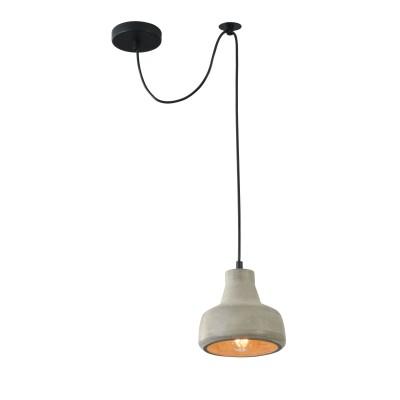 Подвес Maytoni T433-PL-01-GR BroniОдиночные<br><br><br>Тип лампы: Накаливания / энергосбережения / светодиодная<br>Тип цоколя: E27<br>Цвет арматуры: Серый<br>Количество ламп: 1<br>Диаметр, мм мм: 165<br>Высота полная, мм: 2150<br>Высота, мм: 150<br>MAX мощность ламп, Вт: 40