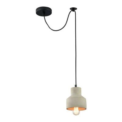 Подвес Maytoni T437-PL-01-GR BroniОдиночные<br><br><br>Тип лампы: Накаливания / энергосбережения / светодиодная<br>Тип цоколя: E27<br>Цвет арматуры: Серый<br>Количество ламп: 1<br>Диаметр, мм мм: 125<br>Высота полная, мм: 2135<br>Высота, мм: 135<br>MAX мощность ламп, Вт: 40