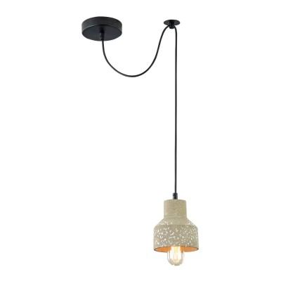 Подвес Maytoni T438-PL-01-GR Broniодиночные подвесные светильники<br><br><br>Тип лампы: Накаливания / энергосбережения / светодиодная<br>Тип цоколя: E27<br>Цвет арматуры: Серый<br>Количество ламп: 1<br>Диаметр, мм мм: 125<br>Высота полная, мм: 2135<br>Высота, мм: 135<br>MAX мощность ламп, Вт: 40