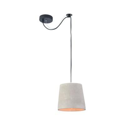 Подвес Maytoni T440-PL-01-GR BroniОдиночные<br><br><br>Тип лампы: Накаливания / энергосбережения / светодиодная<br>Тип цоколя: E27<br>Цвет арматуры: Серый<br>Количество ламп: 1<br>Диаметр, мм мм: 190<br>Высота полная, мм: 2170<br>Высота, мм: 170<br>MAX мощность ламп, Вт: 40